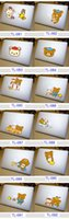 Wholesale Rilakkuma SNOOPY Stitch Chi s Sweet Home Simpsons Creative personality Vinyl Local Decal Sticker Skin for Apple MacBook Retina13 inch