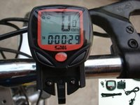Wholesale Hot Sale Waterproof LCD Bicycle Computer Display Bike Cycling Outdoor Sports Odometer Speedometer Functions