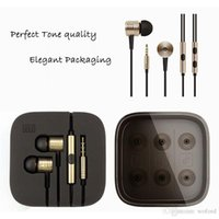 bass earpiece - Top quality mega bass updated version mm XIAOMI Earphone Headphone Ears headset For XiaoMI Samsung iPhone s HTC Sony earpiece