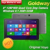 Wholesale Original quot VOYO WinPad A1 mini Intel Atom Z3735F Quad Core Tablet PC Dual Camera HDMI WiFi GB GB windows