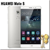 Wholesale HUAWEI Mate S GB RAM GB ROM Mobile Phone Kirin Octa Core G FDD LTE Inch mAh MP
