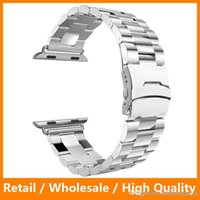 arc link - Black Silver Gold Link Bracelet Arc Clasp L Stainless Steel Watchband for Apple Watch Bank Luxury for iWatch mm mm