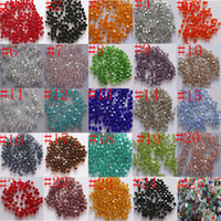 Wholesale mm mm swarovski crystal Bicone Beads U Pick color