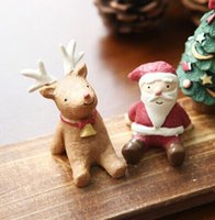 Wholesale Drop Shipping Fashion Christmas Cute Small Animal Resin Crafts Ornaments Groceries Xmas
