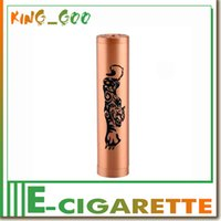 Wholesale Tiger mods full mechanical mod clone copper battery tube pk Colombia honeycomb ludovico Calvert hemlock Taifun mech mod