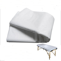 Wholesale Disposable White Massage Bed Sheet Flat Table Cover Waterproof sheets a set
