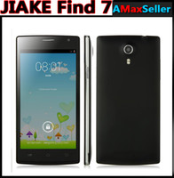 "Cheap 5"" MTK6582 Quad core JIAKE Find 7 Smartphone Android 4.4 Kitkat 8GB + 1GB 5 inch 960*540 QHD 3G WCDMA 8MP Smart wake GPS Unlocked"