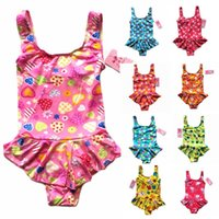 childrens wear - Kids swimweSample Baby girl kids bikini zebra leopard kimono princess tutu lace swimwear swimming wear Togs childrens swimwear