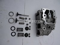 186F air valve assembly - Fast shipping F Cylinder head assembly intake valve air cooled diesel engine suit for kipor kama Chinese brand