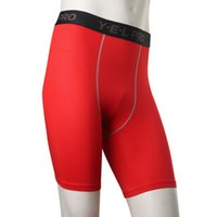 Wholesale New Arrival Sport Tight Training Combat Men Running Riding Compression Skinny Gym Shorts