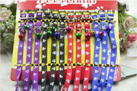 Wholesale 4 colors good quality led pet collar pet leash dog collar mixed sale