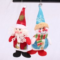 alice ornaments - Christmas Christmas Snowman doll cloth hat Alice feet Claus Christmas gift small pendant ornament accessories adornos navidad
