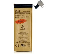 li polymer battery 3.7v - Replacement V mAh High Capacity Gold Li ion Polymer Battery for iPhone s Gold