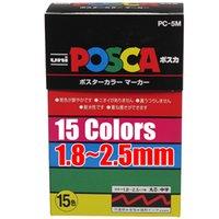 Wholesale New Arrival UNI POSCA PC M Color markers set mm set