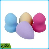 latex powder - Free DHL Makeup Blender Sponge Bottle Gourd Drop Shape Flawless Beauty Smooth Foundation Latex Powder Puff With OPP Bag