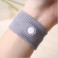 Wholesale 1000 BBA4145 HOT Anti nausea Waist Support Sports cuffs Safety Wristbands Carsickness Seasick Anti Motion Sickness Motion Sick Wrist Bands