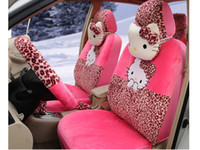 Wholesale New Hello Kitty Car Seat Covers Accessories Set TL L