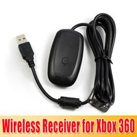 Wholesale Wireless PC USB Gaming Receiver for Xbox xbox360 Compact Disc DHL