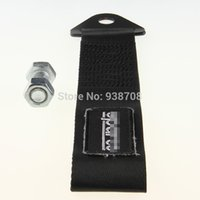 Wholesale New Black High Strength Racing Tow Strap For Front Rear Bumper Hook Truck SUV
