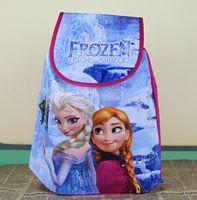 Wholesale Children New Girls Bag Frozen Elsa Princess Cartoon Lovely Bag Kids Children School Bags