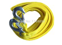 Wholesale 2014 Sale New Bind Nylon Car Covers Rope Tow Emergency Vehicle Trailer Rope Car Towing Belt Meters Ton