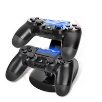 ps4 console - Dual Charger Dock Mount USB Charging Stand For Xbox One Sony PlayStation PS4 PS X box one Game Gaming Wireless Controller Console