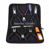 Wholesale Set of ROUND NOSE PLIERS CUTTER BEADING JEWELRY MAKING CRAFT TOOL KIT
