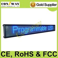 advertising programs - FedEx led advertising letter with blue color and multi language program