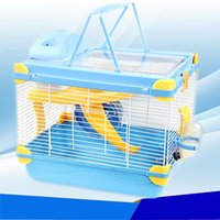 Wholesale 2015 New multicolor pet gaiola hamster cage Dream Castle Travel carry hamster cages