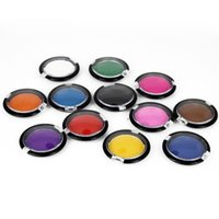 Wholesale Fashion Hair Color Temporary Hair Dye Chalk Compact Candy Color Pressed Powder For Hair Coloring