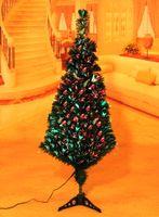 Wholesale Christmas tree fiber optic tree cm led optical fiber tree shine