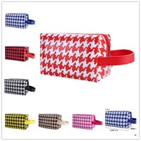 discount designer handbags - RINHOO Bags for Women Discount Cosmetic Handbags Designer Handbags baggu Many colors mixed Houndstooth picture