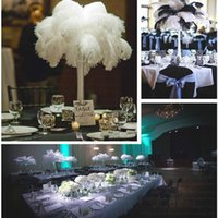 Wholesale Quality White Ostrich Feathers inch CM Wedding