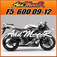 best honda cbr - Addmotor Best Selling Injection Mold Fairings Body Kit Fit Honda F5 CBR600RR CBR RR Black White H69149 Five Free Gifts