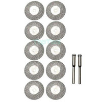 Wholesale 10pcs MM Diamond Grinding Slice Dremel Accessories for Rotary Tools H2319 A3A5
