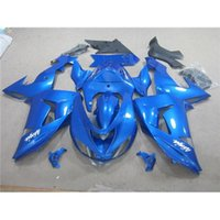 Wholesale Racing Fairing Set Kawasaki Fit Year ZX10R Ninja Dark Blue Motorcycle Bodywork Customized Color Motorbike Cowling