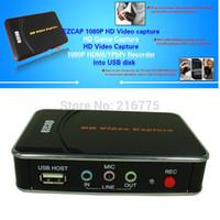 Capture vidéo HD 1080p HDMI Enregistreur Box jeu Capture pour XBOX One / 360 / PS3 / Wii U avec Professional Edition Logiciel Ezcap280