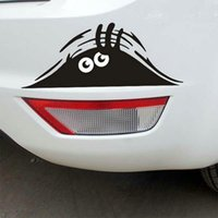 Wholesale Hot Selling Peeking Monster Car Stickers Black Peep Funny For Funny Car cm