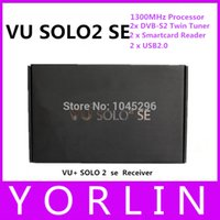 Cheap (2pcs lot) START SELL !!2014 new Vu Solo2 SE with Black Hole Openli Openvix upgraded from vu solo 2 mini Satellite TV Receiver