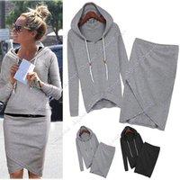 Women baseball jackets - New Autumn summer Baseball Skirt Women Casual Blouse Jacket Sport Suits Sweater Hoodies Workout Shorts SV004932