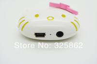 Wholesale Portable Audio Video MP3 Players High Quality Mini Fashion Hello Kitty Shaped Card Reader MP3 Music Player Support TF Card
