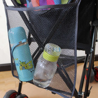 Wholesale Hot Selling Amazing Baby Stroller Organizer Black Carrying Bag Pushchair Mesh Bag Umbrella Baby Car Bag Stroller Accessories
