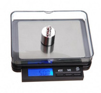 balance beam scale - new g g Digital electronic balance weight scale silvery and black base H8670 backlight blue