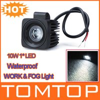 Wholesale Waterproof V Aluminium alloy W LED Work Light Fog light For Jeep SUV ATV Off road Truck