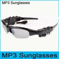 Cheap Wireless Stereo Bluetooth ray Sunglasses Handsfree Headset Headphone for Mp3 Mp4 Music Player iphone ipad Samsung galaxy Smartphones