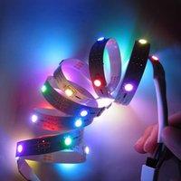 Wholesale best price DC5V NP M LEDs Pixel WS2812B WS2811 RGB Digital LED Strip v Light leds m non waterproof Dream color led strip