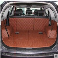 Wholesale New amp Good Full set trunk mats for Chevrolet Captiva seats waterproof leather carpets for Captiva M50949