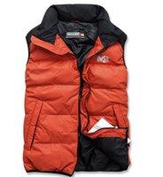 Wholesale New men vest winter down jacket Famous brand fashion warm waistcoat casual autumn men s clothing vest