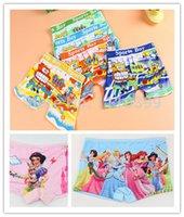 Wholesale Girl Boys underwear Fashion Kids next Cute Cartoon Panties Children Soft Cotton and retail