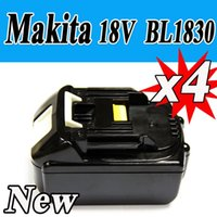 Wholesale pack New Makita V Ah Lithium battery for Makita BL1830 Test Good order lt no track